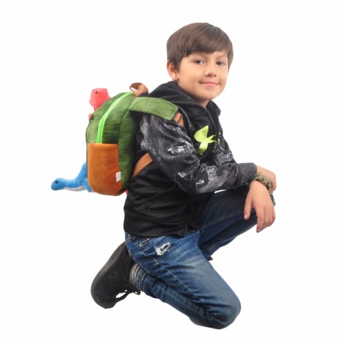 Linzy Toys Dinosaur Backpack Perspective: left