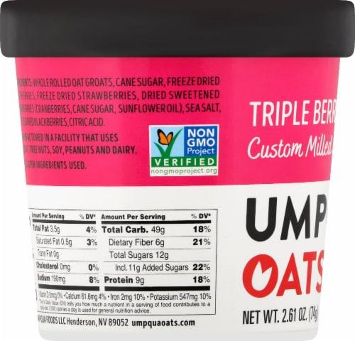 Umpqua Oats Triple Berry Oatmeal Perspective: left