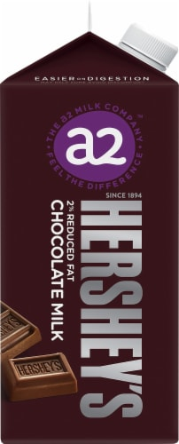 A2 Milk™ Chocolate 2% Reduced Fat Milk Perspective: left