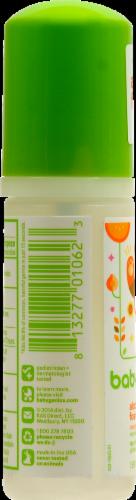 Babyganics the Germinator: Tangerine Foaming Hand Sanitizer Perspective: left