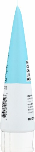 Acure Incredibly Clear Charcoal Lemonade Facial Scrub Perspective: left