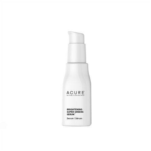 Acure Brightening Super Greens Facial Serum Perspective: left