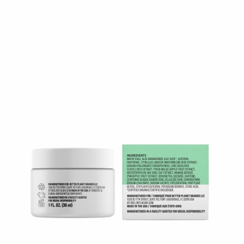 Acure Ultra Hydrating Facial Gel Cream Perspective: left