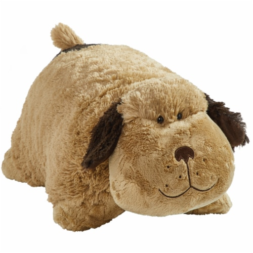 Pillow Pets Snuggly Puppy Plush Toy Perspective: left