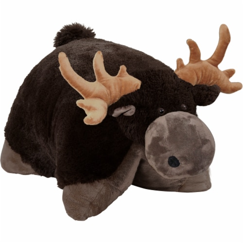 Pillow Pets Wild Animals Wild Moose Plush Toy Perspective: left
