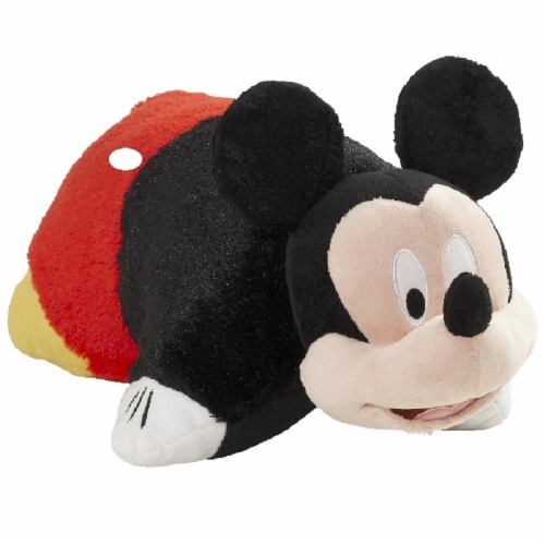 Pillow Pets Jumboz Disney Mickey Mouse Plush Toy Perspective: left