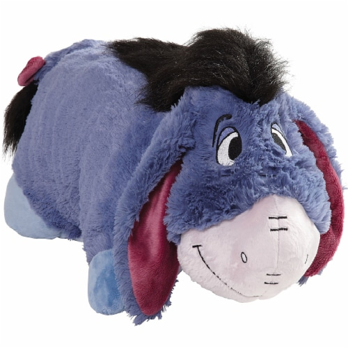 Pillow Pets Jumboz Disney Eeyore Plush Toy Perspective: left