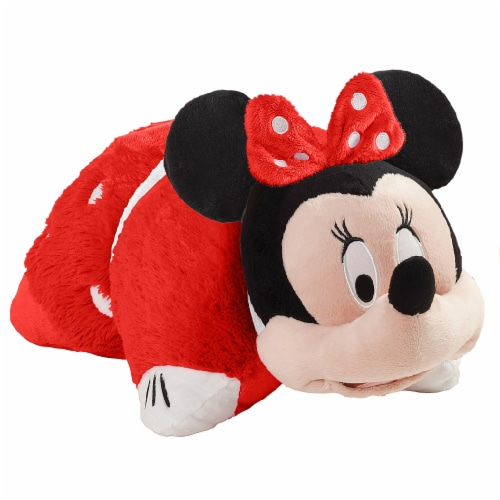 Pillow Pets Disney Rockin' the Dots Minnie Mouse Plush Toy Perspective: left