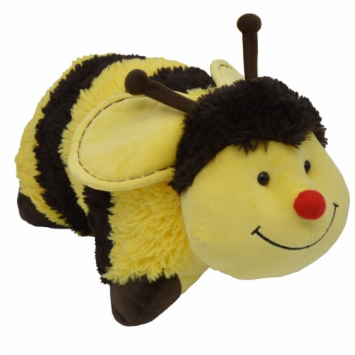 Pillow Pets Bumble Bee Plush Toy Perspective: left