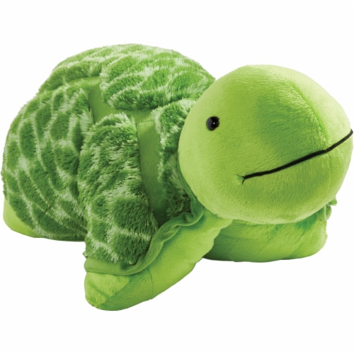 Pillow Pets Teddy Turtle Plush Toy Perspective: left