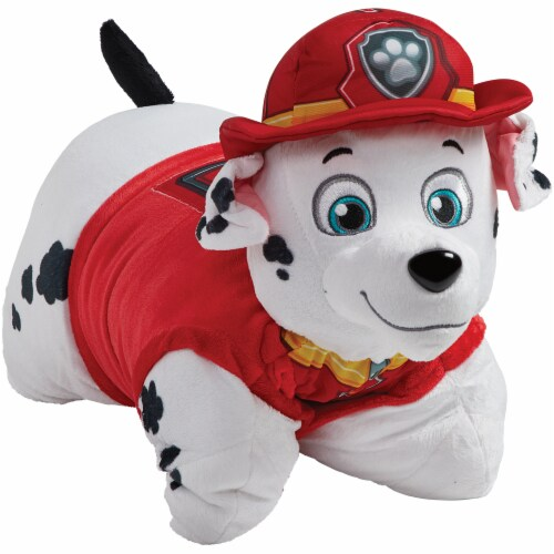 Pillow Pets Nickelodeon Paw Patrol Marshall & Chase Plush Slumber Pack Perspective: left