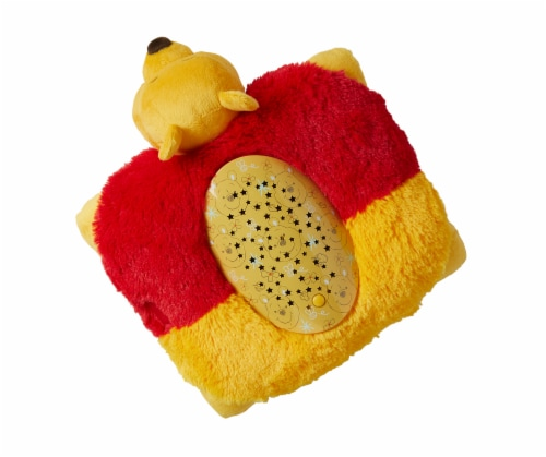 Pillow Pets Sleeptime Lite Disney Winnie the Pooh Plush Toy Perspective: left