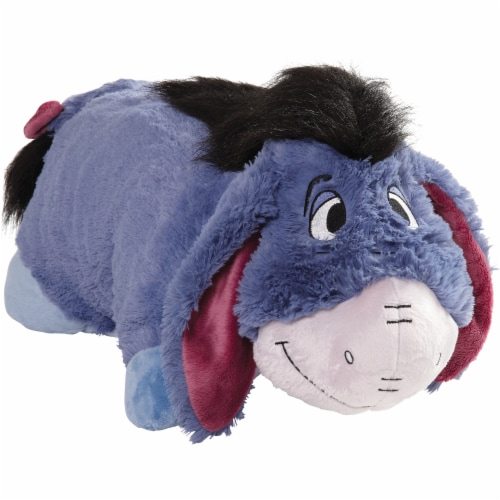 Pillow Pets Disney Winnie the Pooh & Eeyore Plush Toy Combo Pack Perspective: left