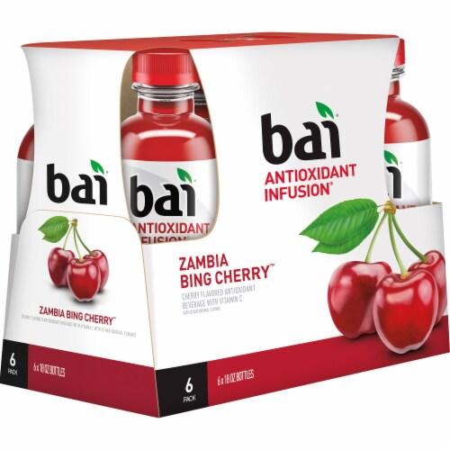 Bai Zambia Bing Cherry Antioxidant Infused Beverage Perspective: left
