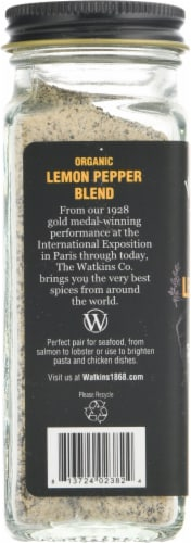 Watkins Organic Lemon Pepper Blend Perspective: left
