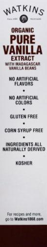Watkins Organic Pure Vanilla Extract Perspective: left
