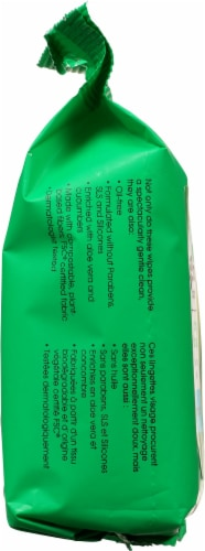 Yes To® Cucumbers Hypoallergenic Facial Wipes Perspective: left