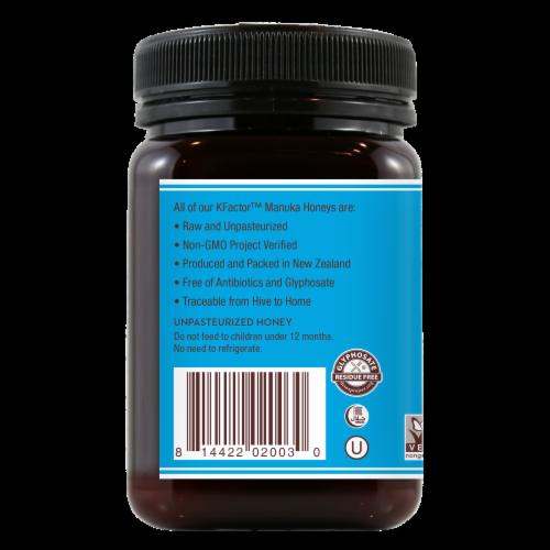 Wedderspoon Raw Manuka Honey Perspective: left