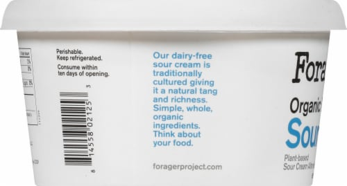 Forager Project Organic Dairy-Free Sour Cream Perspective: left