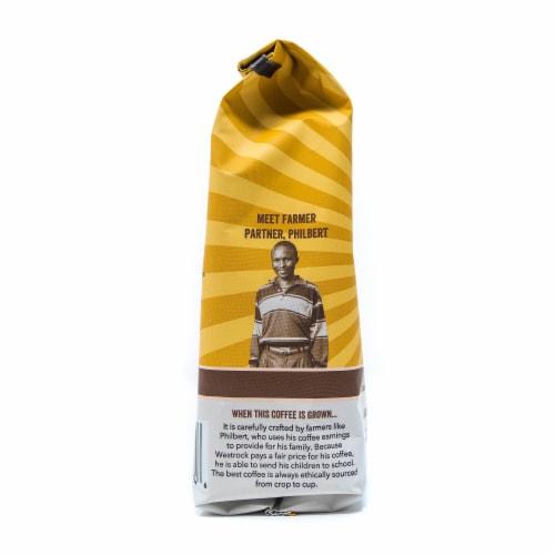 Westrock Organic Sumatra Dark Roast Ground Coffee Perspective: left