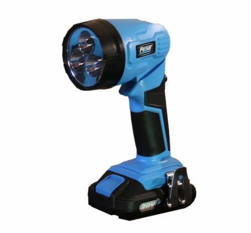 Pulsar 20V Drill & Flashlight Kit - Blue/Black Perspective: left