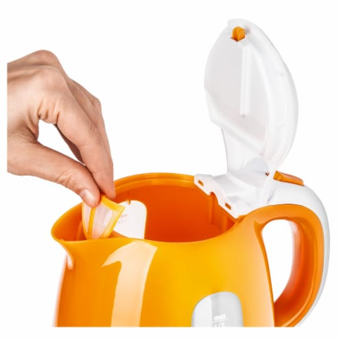 Sencor Small Electric Kettle - Orange Perspective: left