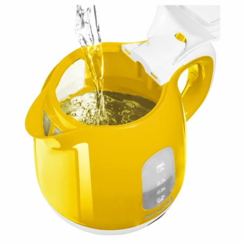 Sencor Small Electric Kettle - Yellow Perspective: left