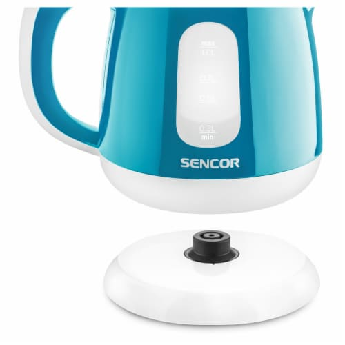 Sencor Small Electric Kettle - Turquoise Perspective: left