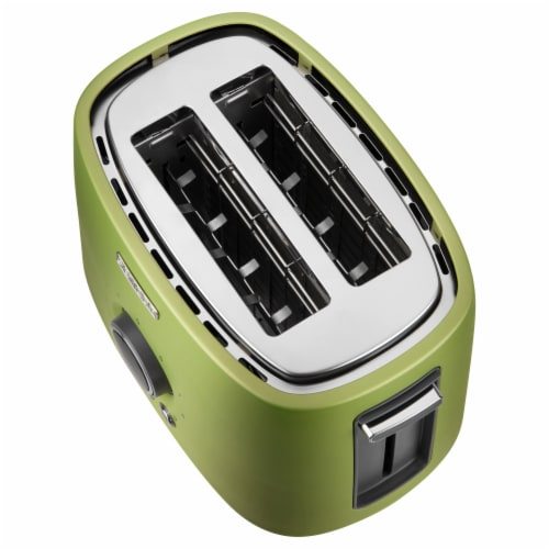 Sencor 2-Slot Toaster with Digital Button and Rack - Light Green Perspective: left
