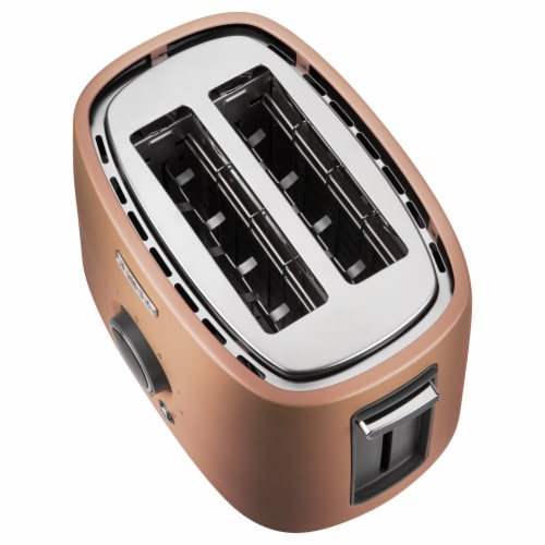 Sencor 2-Slot Toaster with Digital Button and Rack - Gold Perspective: left