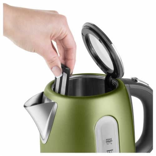 Sencor Stainless Electric Kettle - Light Green Perspective: left