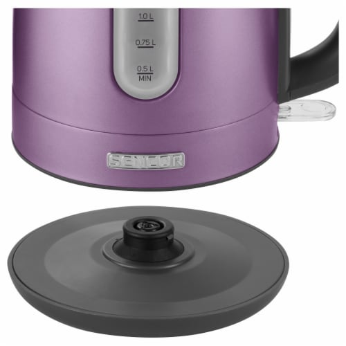 Sencor Stainless Electric Kettle - Violet Perspective: left
