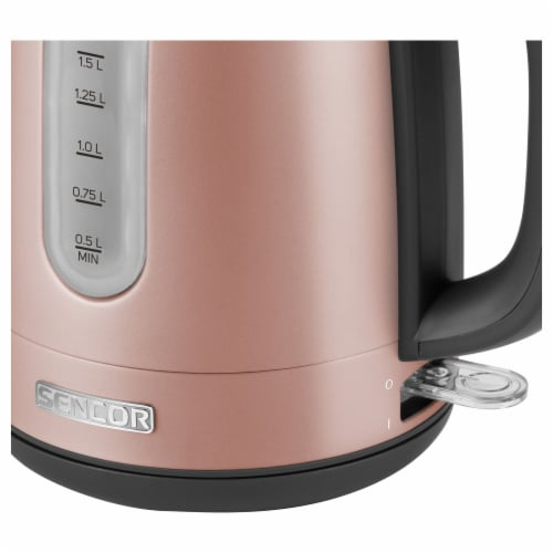 Sencor Stainless Electric Kettle - Pink Perspective: left