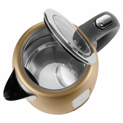 Sencor Stainless Electric Kettle - Champagne Perspective: left