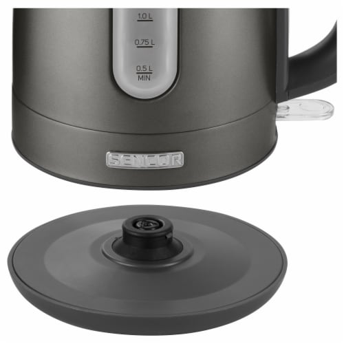 Sencor Stainless Electric Kettle - Black Perspective: left