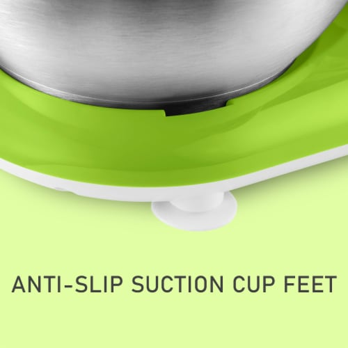 Sencor Stand Mixer with Pouring Shield - Green Perspective: left