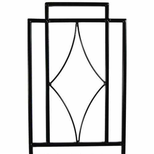 "Sunnydaze 30"" Durable Metal Wire Contemporary Garden Trellis for Plants-Set of 2 Perspective: left"