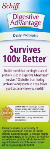 Digestive Advantage Daily Probiotic Perspective: left