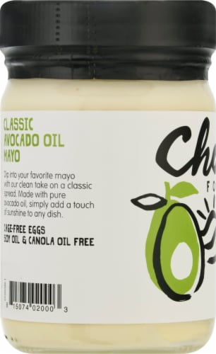 Chosen Foods Avocado Oil Classic Mayo Perspective: left