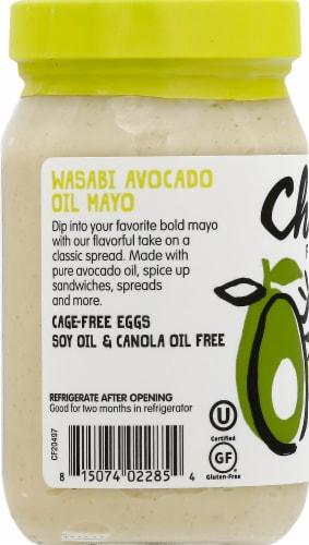 Chosen Foods 100% Avocado Oil Based Wasabi Mayo Perspective: left