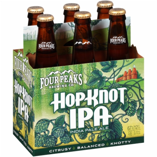 Four Peaks Brewing Hop Knot IPA Perspective: left