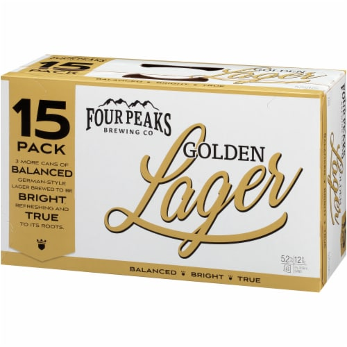 Four Peaks Brewing Golden Lager Perspective: left