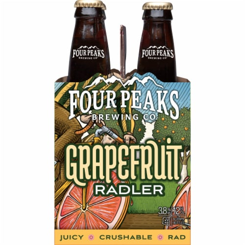 Four Peaks Brewing Grapefruit Radler Perspective: left
