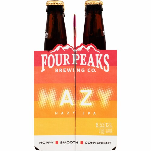 Four Peaks Brewing Hazy IPA Perspective: left