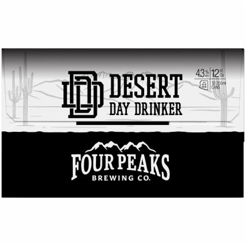 Four Peaks Brewing Desert Day Drinker Beer Perspective: left