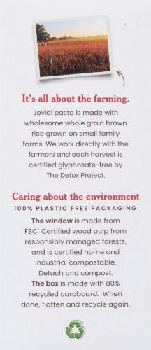 Jovial Gluten Free Brown Rice Pasta Farfalle Perspective: left
