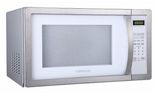 Farberware Classic 1000-Watt Microwave Oven Perspective: left