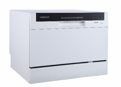 Farberware Professional Countertop Dishwasher - White Perspective: left