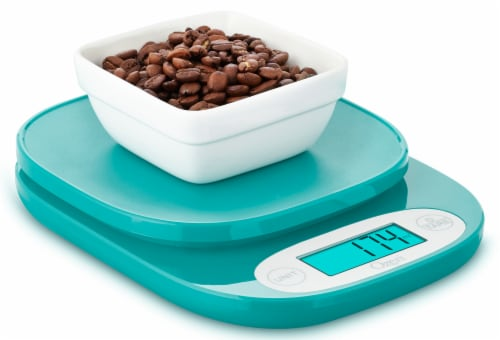 Ozeri ZK24 Garden and Kitchen Scale, with 0.5 g (0.01 oz) Precision Weighing Technology Perspective: left