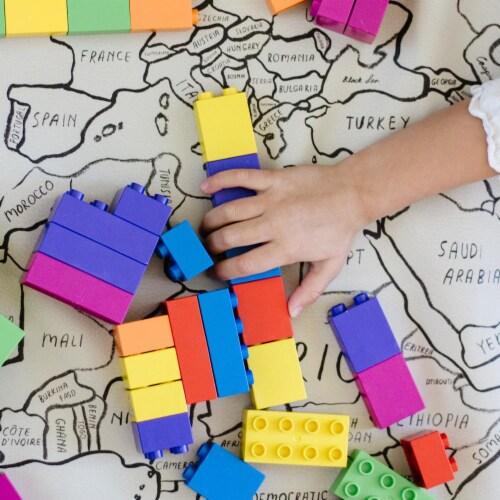 500 pcs BiOBUDDi Assorted Blocks Set Perspective: left